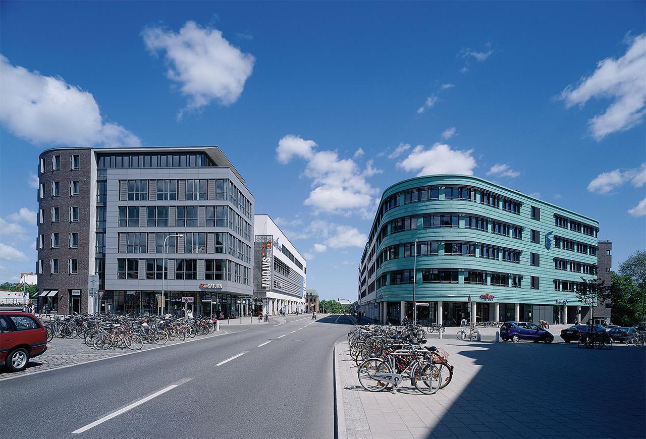 Kitzmann architekten lindenarcaden einkaufszentrum l beck - Architekten lubeck ...