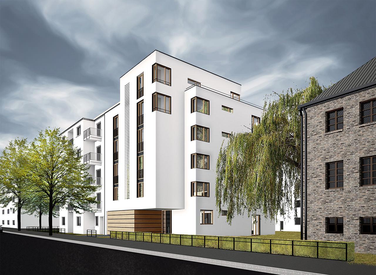 kitzmann architekten wohnen am biedermannplatz. Black Bedroom Furniture Sets. Home Design Ideas