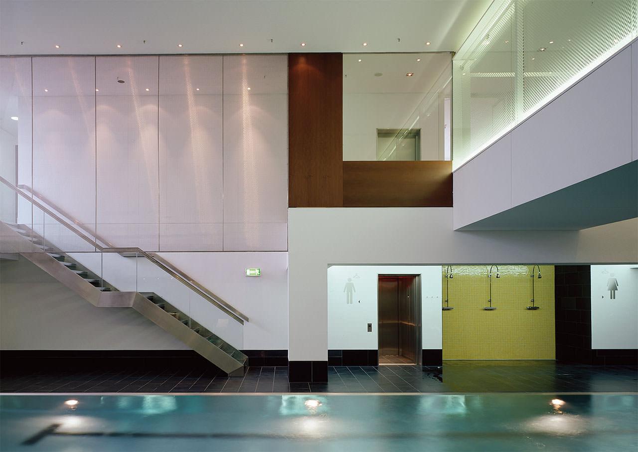 kitzmann architekten holmes place wellnesscenter l beck. Black Bedroom Furniture Sets. Home Design Ideas